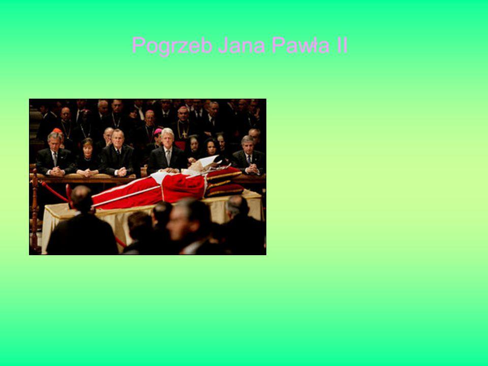 Pogrzeb Jana Pawła II