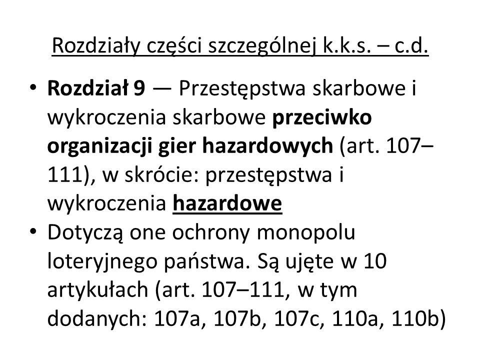 R ozgraniczenie wykroczeń i przestępstw skarbowych: Podział czynów zabronionych na przestępstwa skarbowe i wykroczenia skarbowe po raz pierwszy pojawił się w dekrecie Prezydenta Rzeczypospolitej z 3 listopada 1936 r.