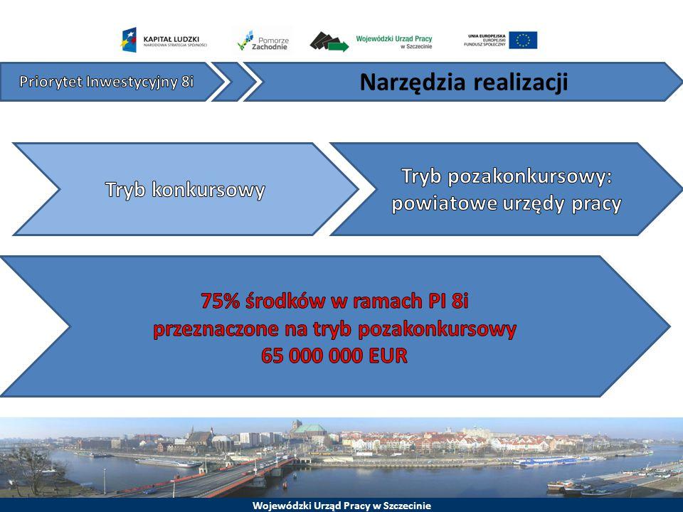 Wojewódzki Urząd Pracy w Szczecinie Narzędzia realizacji