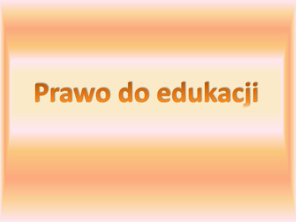 Działania na rzecz zwiększania dostępu do edukacji Rola dostępu do edukacji Prawo do edukacji jako prawo człowieka Bariery w dostępie do edukacji Wyzwania edukacji Znaczenie edukacji w krajach globalnego Południa