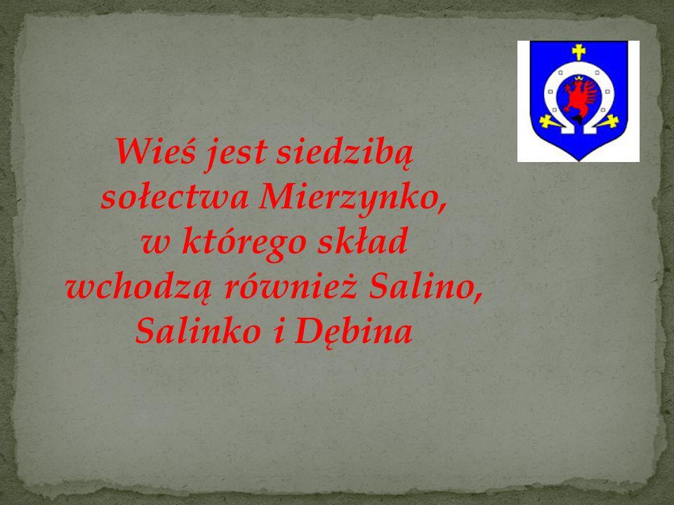 Salino należy do najładniej położonych turystycznie miejscowości w powiecie wejherowskim.