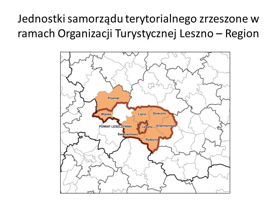 Jednostki samorządu terytorialnego zrzeszone w ramach Organizacji Turystycznej Leszno – Region