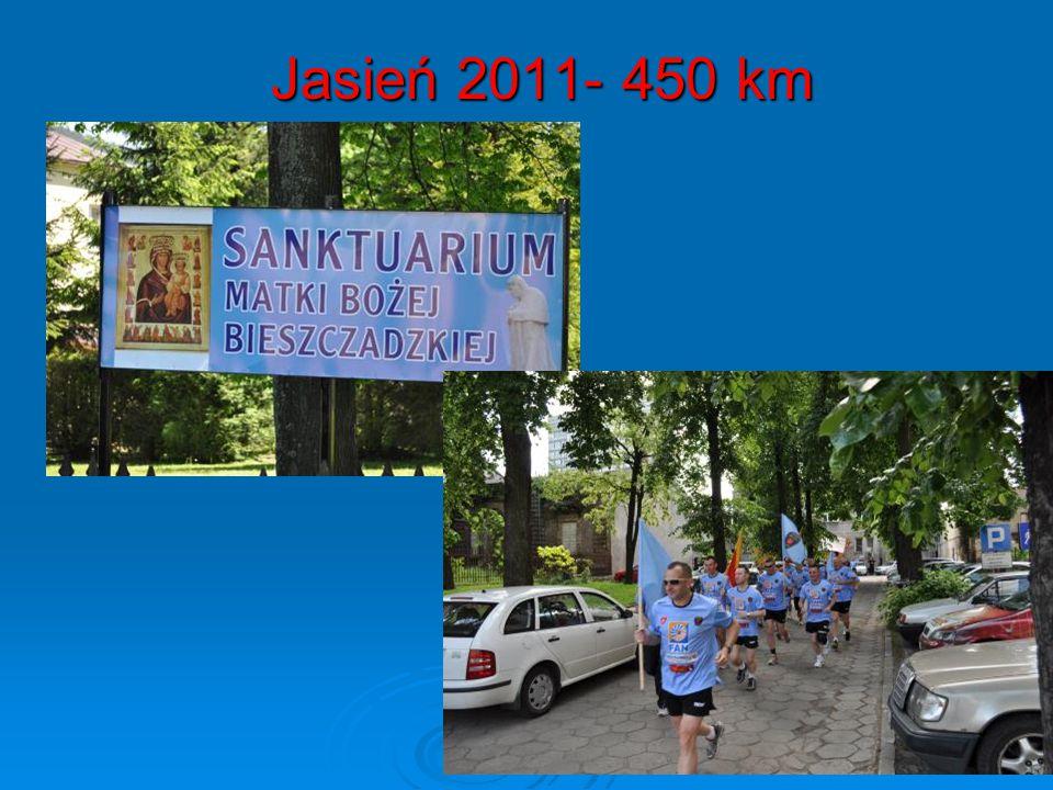 Jasień 2011- 450 km Jasień 2011- 450 km