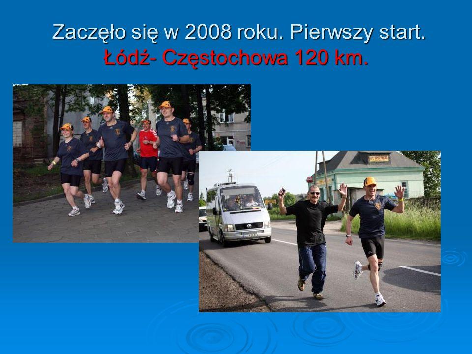 Zaczęło się w 2008 roku. Pierwszy start. Łódź- Częstochowa 120 km. Zaczęło się w 2008 roku. Pierwszy start. Łódź- Częstochowa 120 km.