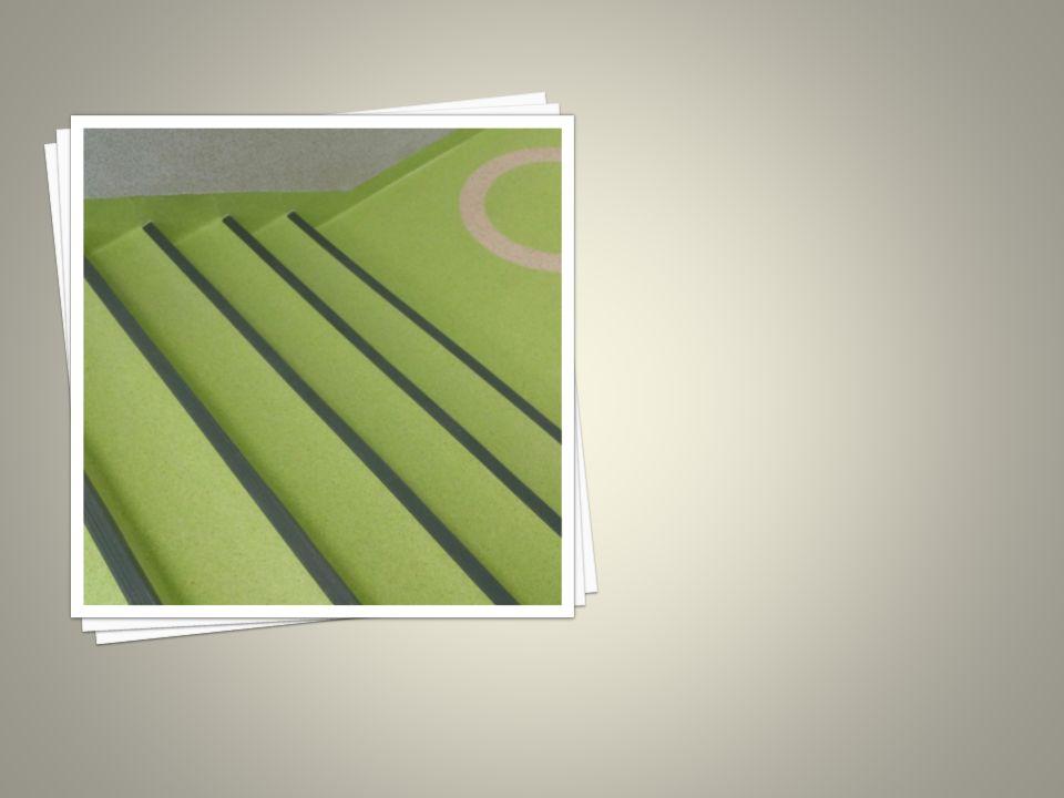 Elastyczny podkład zapewnia amortyzację i komfort poruszania się, a także dzięki wysokiej tłumienności dźwięków ogranicza hałas.