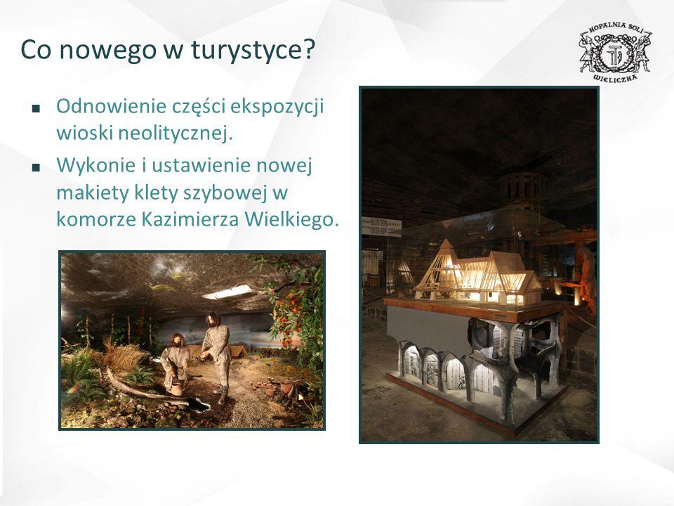 ■ Odnowienie części ekspozycji wioski neolitycznej.