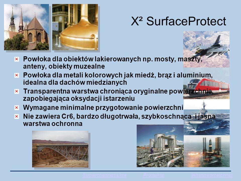 X² SurfaceProtect Powłoka dla obiektów lakierowanych np.