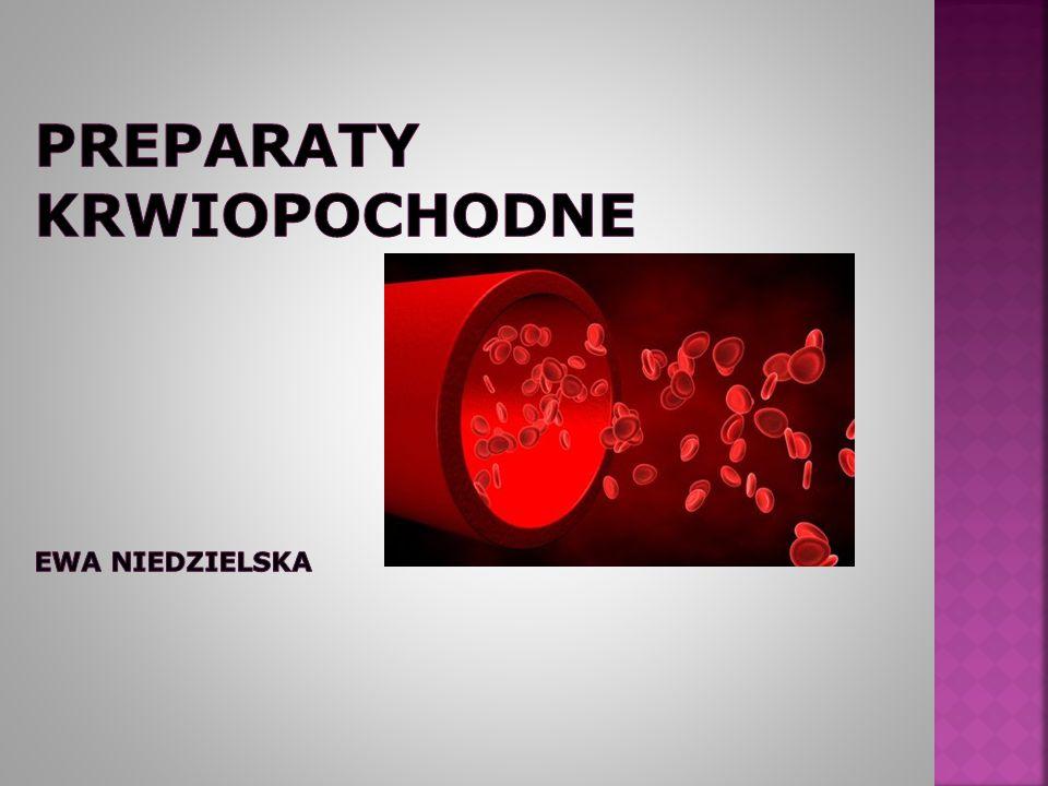 1.Podstawowe wiadomości o morfologii 2. Rodzaje preparatów krwi 3.