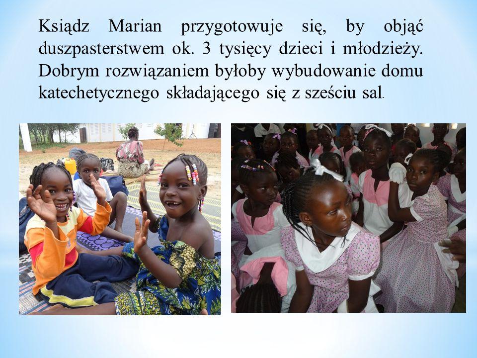 Ksiądz Marian przygotowuje się, by objąć duszpasterstwem ok. 3 tysięcy dzieci i młodzieży. Dobrym rozwiązaniem byłoby wybudowanie domu katechetycznego