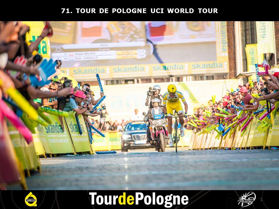 Co roku Tour de Pologne śledzą miliony widzów.