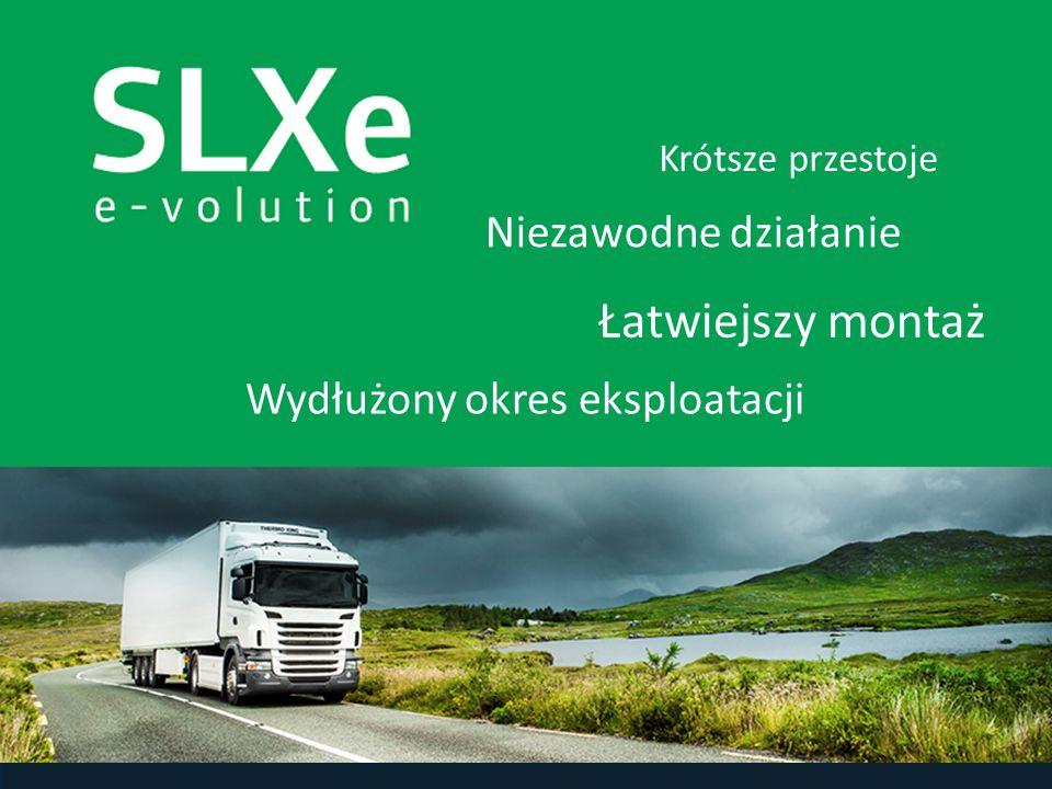 Firma Thermo King zareagowała na potrzeby klientów, udoskonalając sprawdzoną serię SLX.