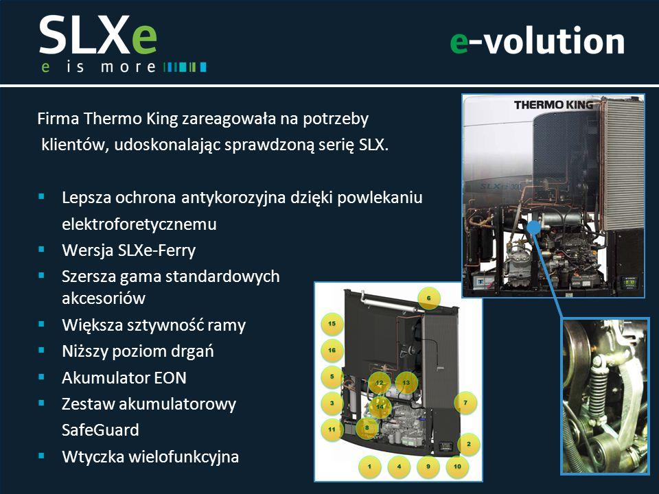 Firma Thermo King zareagowała na potrzeby klientów, udoskonalając sprawdzoną serię SLX.  Lepsza ochrona antykorozyjna dzięki powlekaniu elektroforety