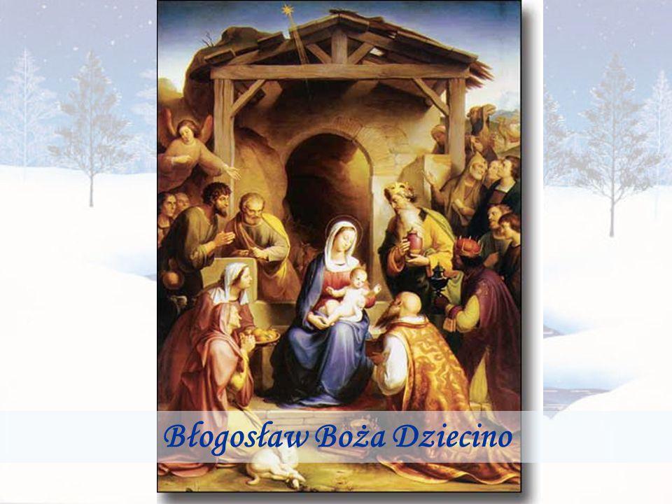 Daj ludziom wiary… Idź już Nowy Roku … Tak mówi Rok Stary … I znika… z łzą w oku..
