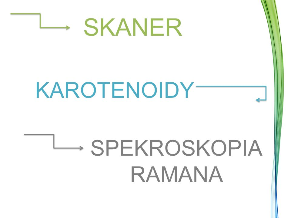 SKANER KAROTENOIDY SPEKROSKOPIA RAMANA