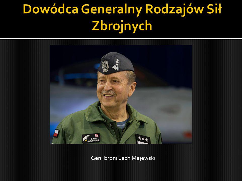 Gen. broni Lech Majewski