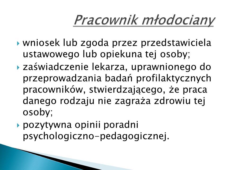  wniosek lub zgoda przez przedstawiciela ustawowego lub opiekuna tej osoby;  zaświadczenie lekarza, uprawnionego do przeprowadzania badań profilakty