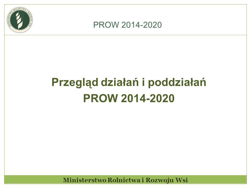 Ministerstwo Rolnictwa i Rozwoju Wsi System płatności bezpośrednich w latach 2015 - 2020 Intencją Ministra Rolnictwa i Rozwoju Wsi jest wykorzystanie środków pochodzących z II-go filaru na rolnictwo aktywne.