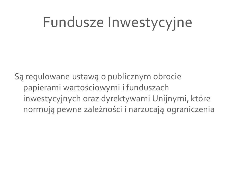 Fundusze o różnych typach jednostek uczestnictwa Konstrukcja takiego funduszu polega na tym, że fundusz, mimo że prowadzi jednorodną politykę inwestycyjną, tzn.