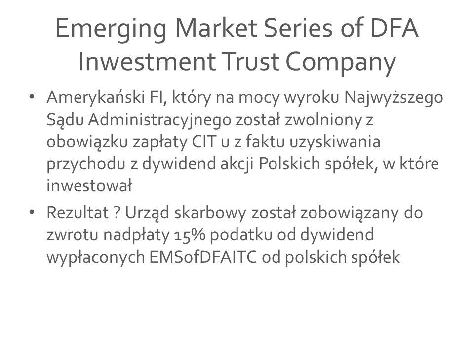 Fundusze z subfunduszami Konstrukcja takiego funduszu pozwala na utworzenie w ramach jednego funduszu inwestycyjnego kilku subfunduszy, z których każdy będzie mógł realizować własną politykę inwestycyjną.