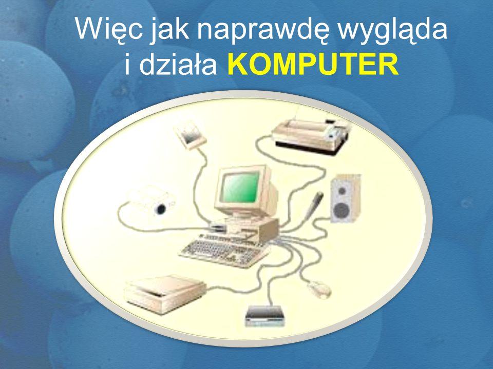 KOMPUTER działa jak CZŁOWIEK