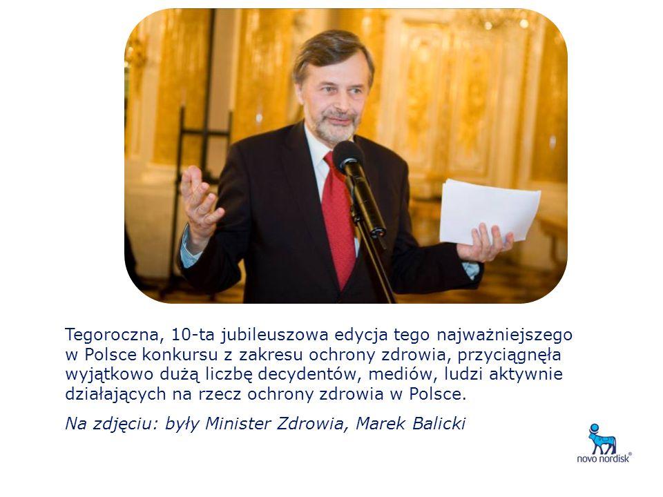 Tegoroczna, 10-ta jubileuszowa edycja tego najważniejszego w Polsce konkursu z zakresu ochrony zdrowia, przyciągnęła wyjątkowo dużą liczbę decydentów, mediów, ludzi aktywnie działających na rzecz ochrony zdrowia w Polsce.