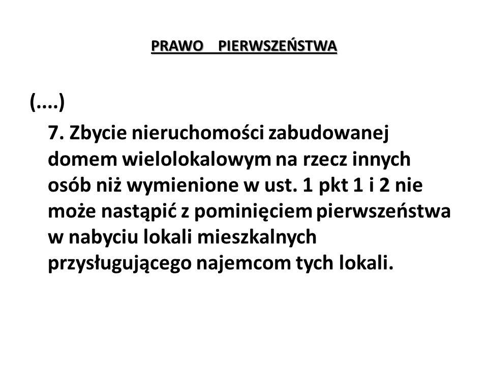 PRAWO PIERWSZEŃSTWA (....) 7.
