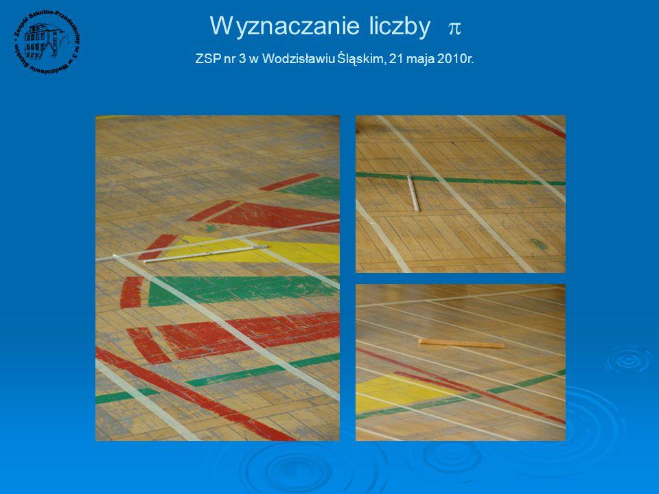 Wyznaczanie liczby  ZSP nr 3 w Wodzisławiu Śląskim, 21 maja 2010r. No tak, znowu linia ;) Ciekawe czy trafię w pole czy w linię?
