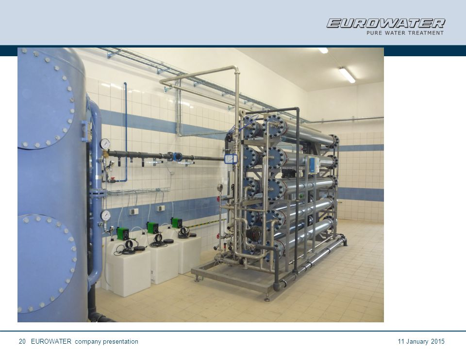 11 January 2015EUROWATER company presentation20