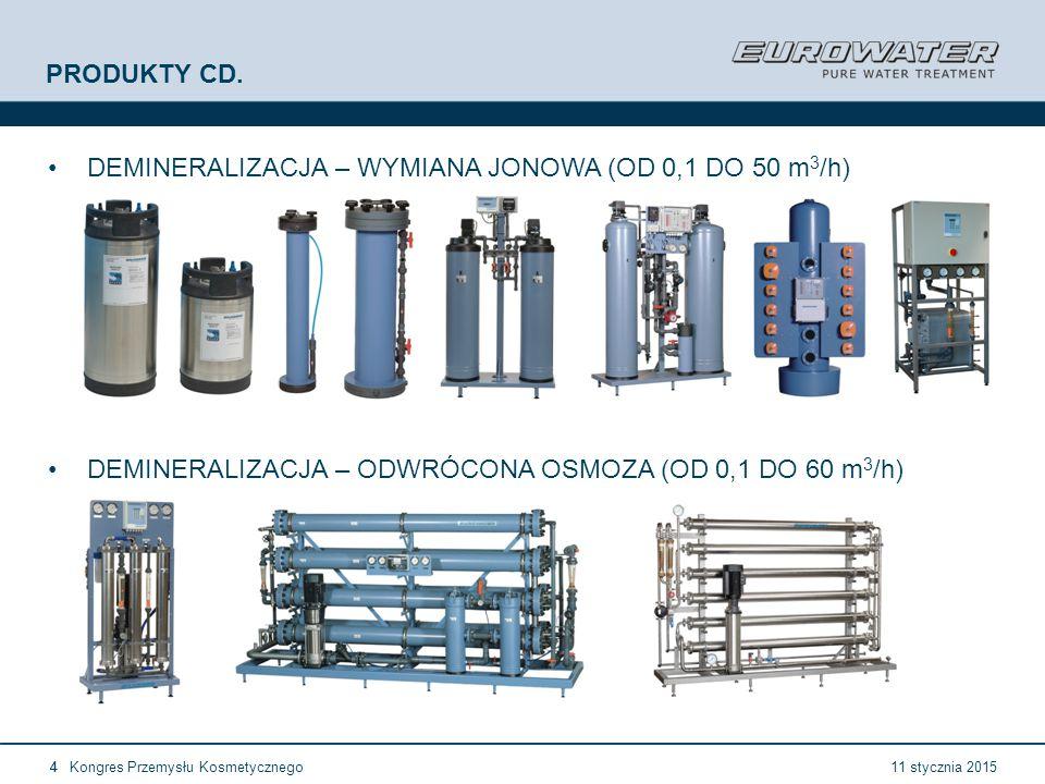 11 stycznia 2015Kongres Przemysłu Kosmetycznego25 Forum Walidacji ISPE Wrocław, 28-29 lutego 2012 European GMP (3) A3.43 Urządzenia do dejonizacji oraz w stosowanych przypadkach inne rurociągi wodne powinny być sanityzowane według pisemnych procedur gdzie określone są szczegółowe działania które należy podjąć w przypadku przekroczenia zanieczyszczeń mikrobiologicznych.