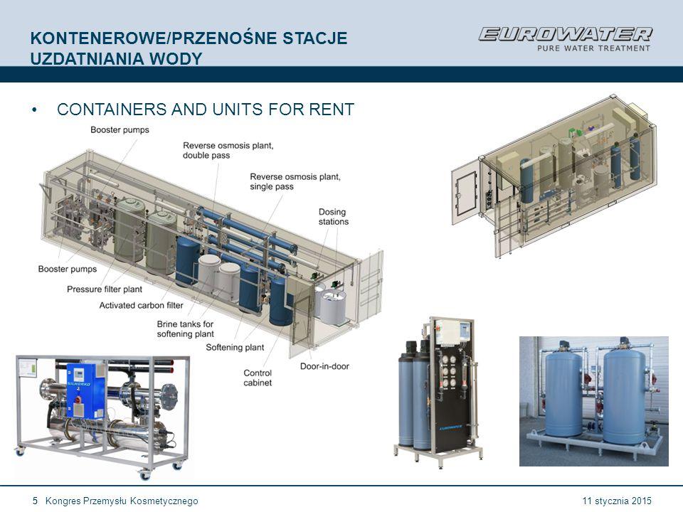 11 January 2015EUROWATER company presentation16