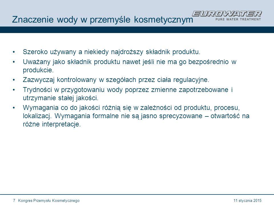 11 stycznia 2015Kongres Przemysłu Kosmetycznego28 Forum Walidacji ISPE Wrocław, 28-29 lutego 2012 21 CFR 211.48b Rurociągi podłączone do kanalizacji, powinny być wyposażone w przerwy powietrzne Szczególne warunki sanitarne Przerwy powietrzne są preferowane zamiast zaworów zwrotnych czy przerywaczy strugi Wspólne kolektory ściekowe powinny być zabezpieczone tak aby nie było możliwości kontaminacki wtórnej Uwaga na tzw.