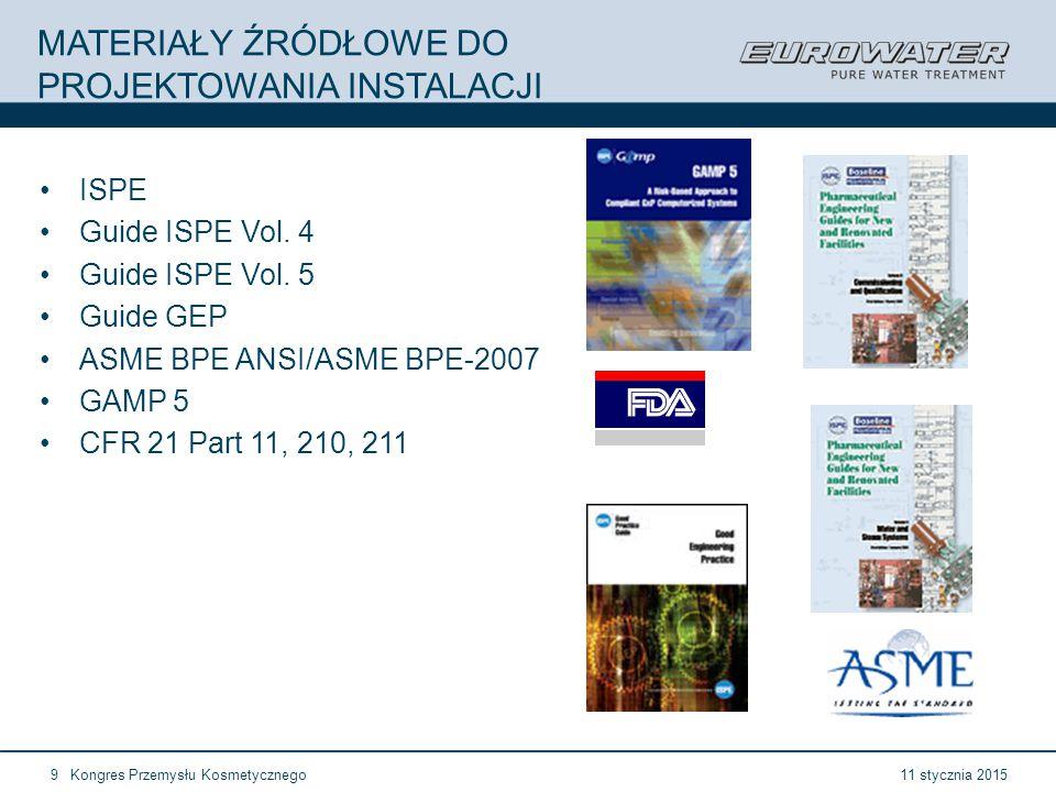 11 January 2015EUROWATER company presentation20