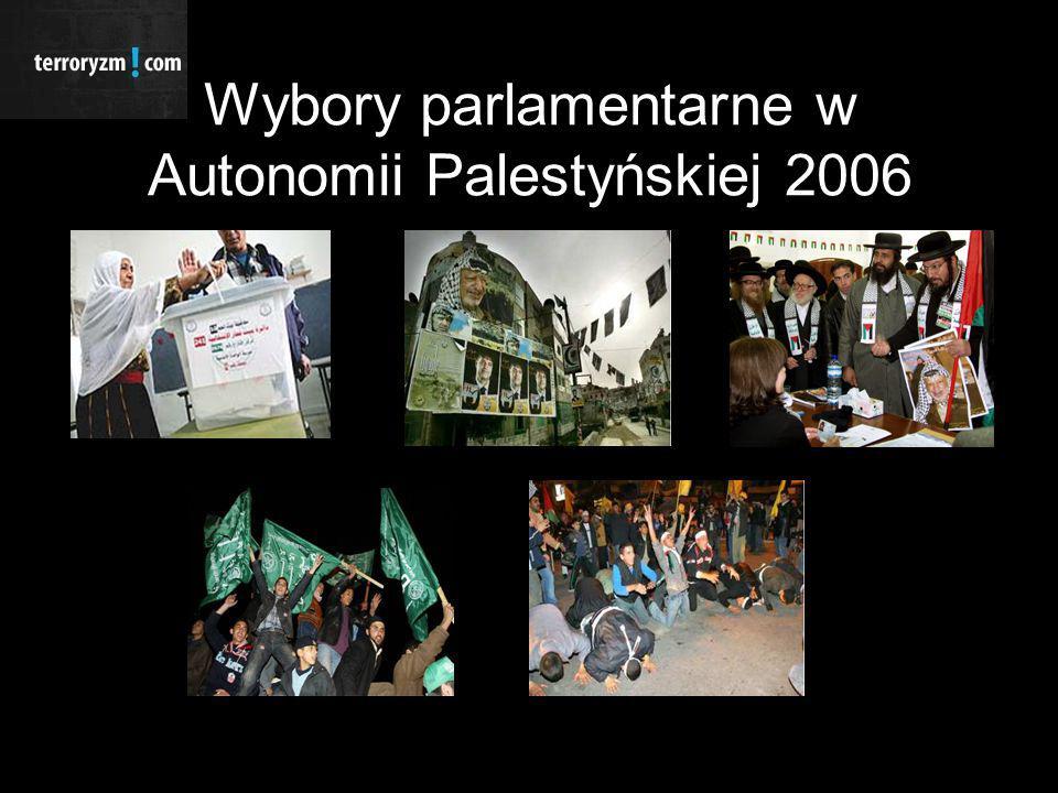 Wybory parlamentarne w Autonomii Palestyńskiej 2006