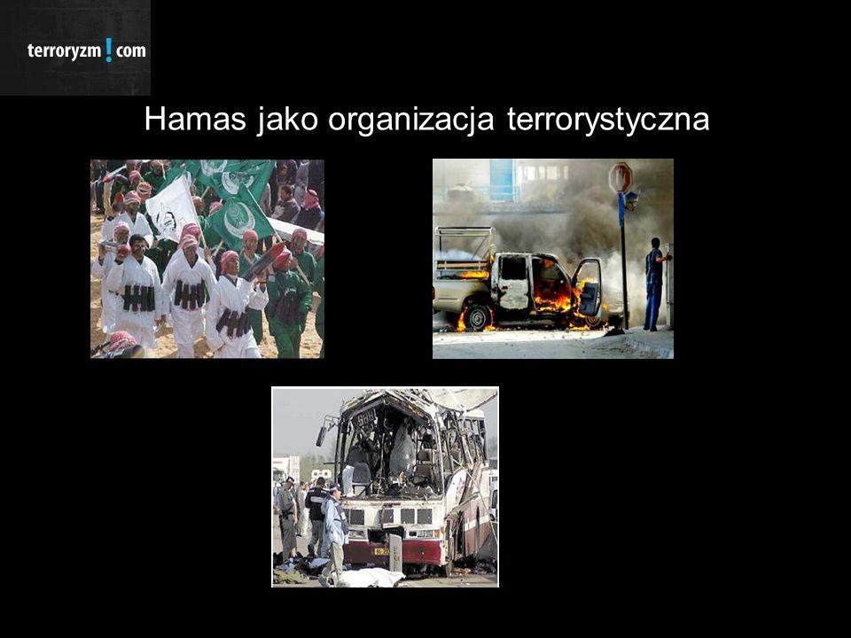 Hamas jako organizacja terrorystyczna