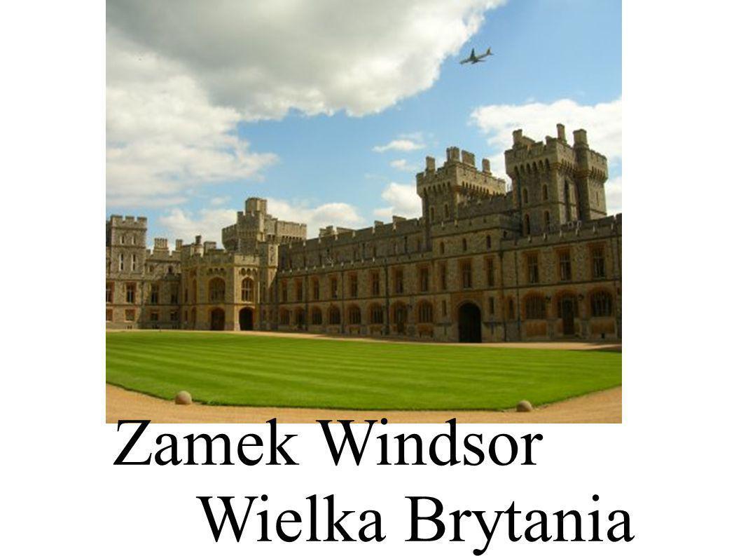 Zamek Windsor Wielka Brytania