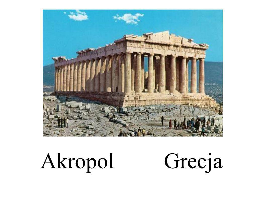 Akropol Grecja