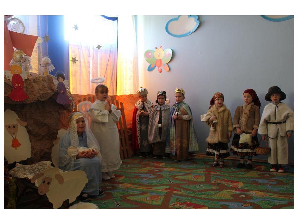 Kolejnym etapem naszego przedszkolnego kolędowania jest dzień 21.01.2014r.