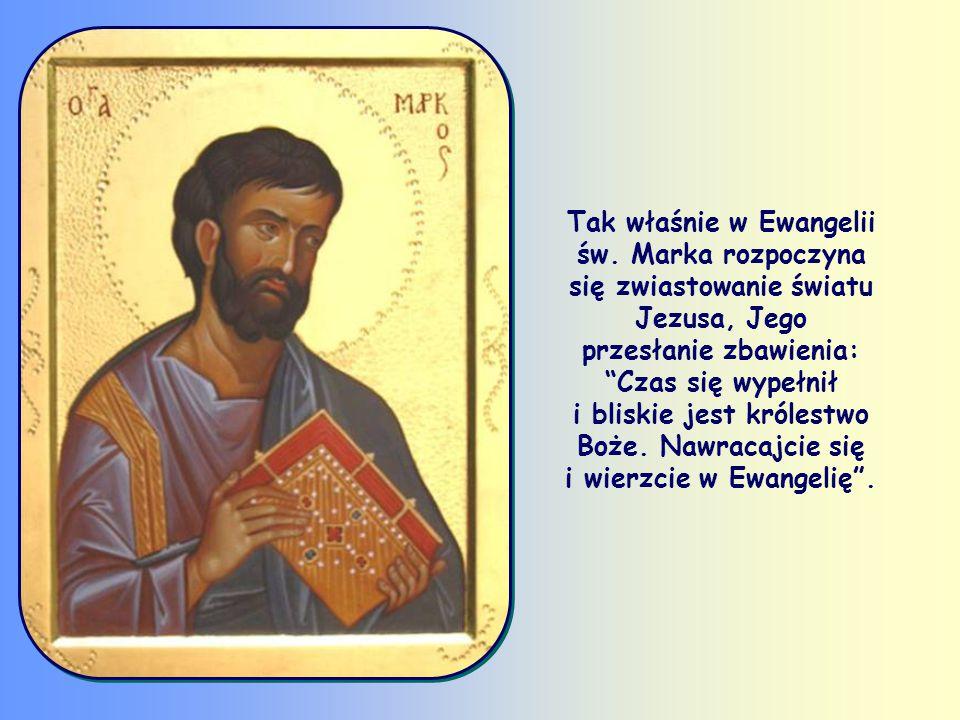 «Nawracajcie się i wierzcie w Ewangelię» (Mk 1,15).