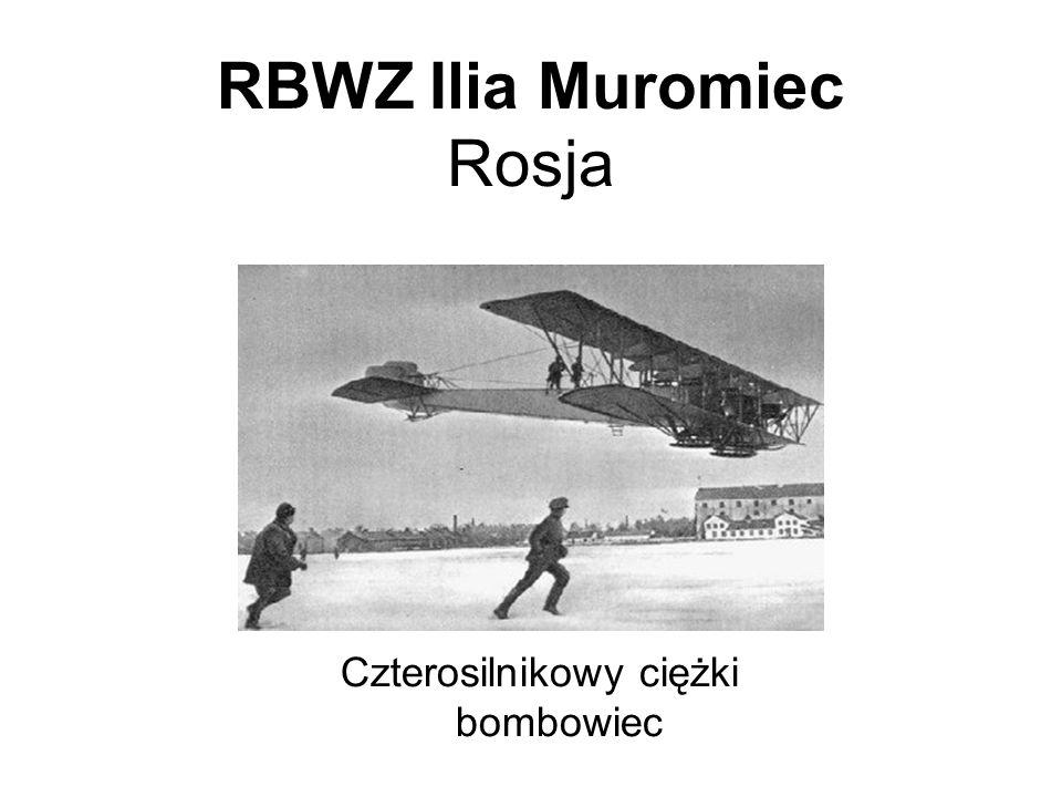RBWZ Ilia Muromiec Rosja Czterosilnikowy ciężki bombowiec