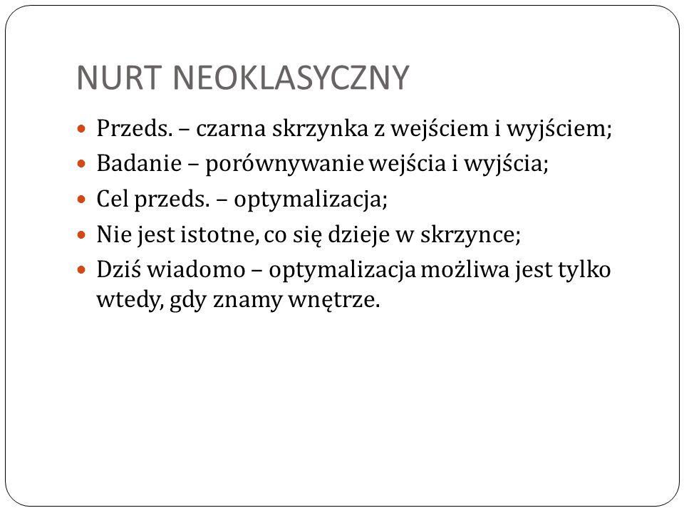 NURT NEOKLASYCZNY Przeds.
