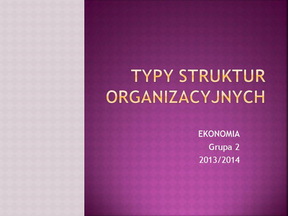 EKONOMIA Grupa 2 2013/2014