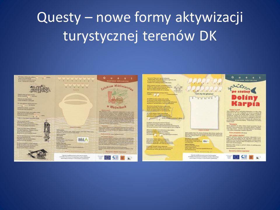 Questy – nowe formy aktywizacji turystycznej terenów DK