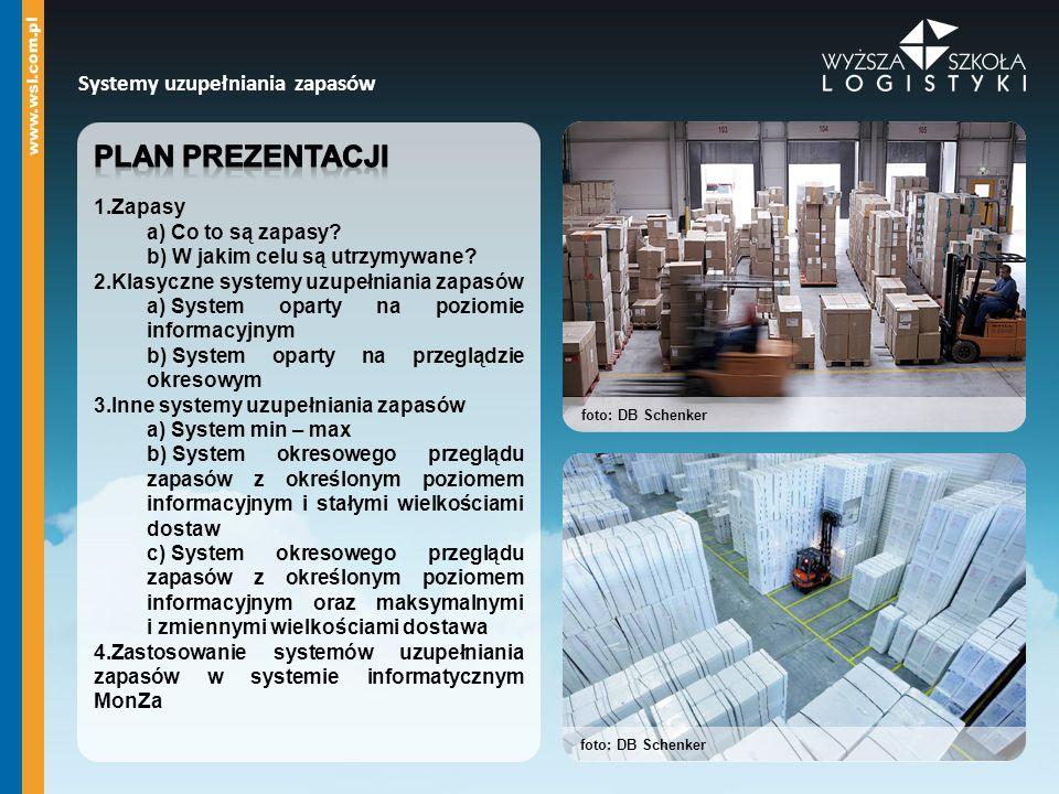 Systemy uzupełniania zapasów foto: DB Schenker