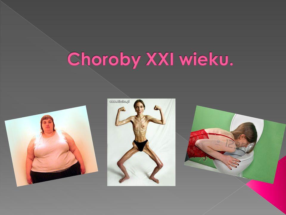 Anoreksja, Bulimia, Otyłość.
