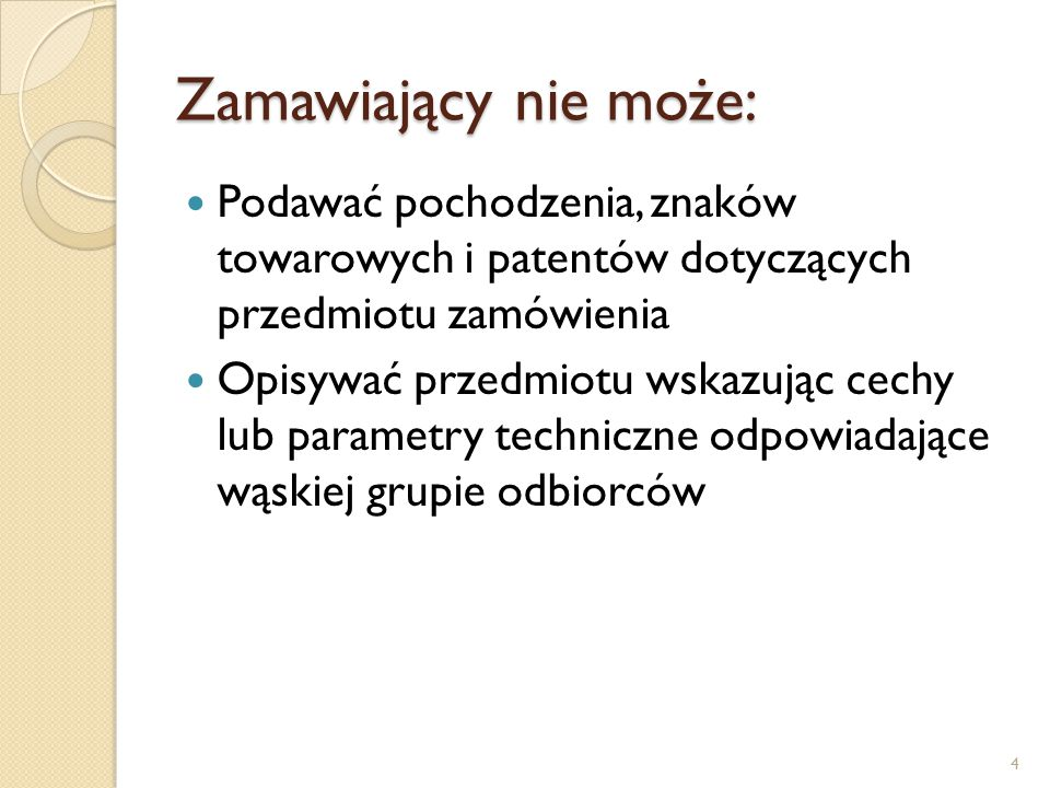 Istotne dla stron postanowienia umowy zawarte w SIWZ: Wysokość kar przysługująca mu z tytułu niewykonania umowy Wysokość odsetek Gwarancje jakości 15