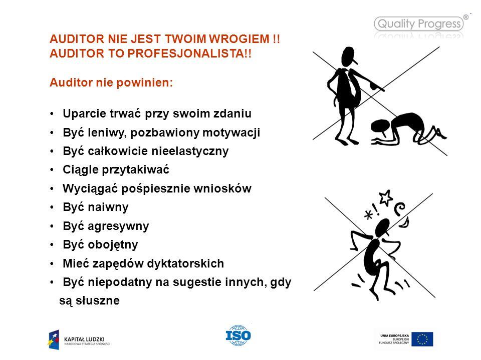 AUDITOR NIE JEST TWOIM WROGIEM !. AUDITOR TO PROFESJONALISTA!.