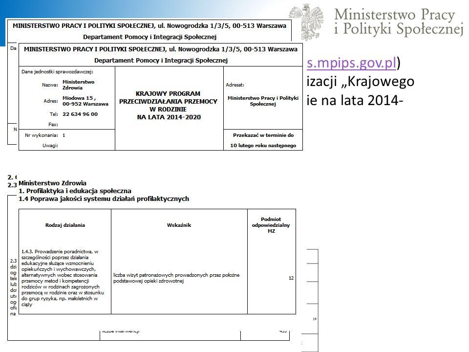 """W Centralnej Aplikacji Statystycznej (https://cas.mpips.gov.pl) dostępna jest nowa wersja sprawozdania z realizacji """"Krajowego Programu Przeciwdziałan"""