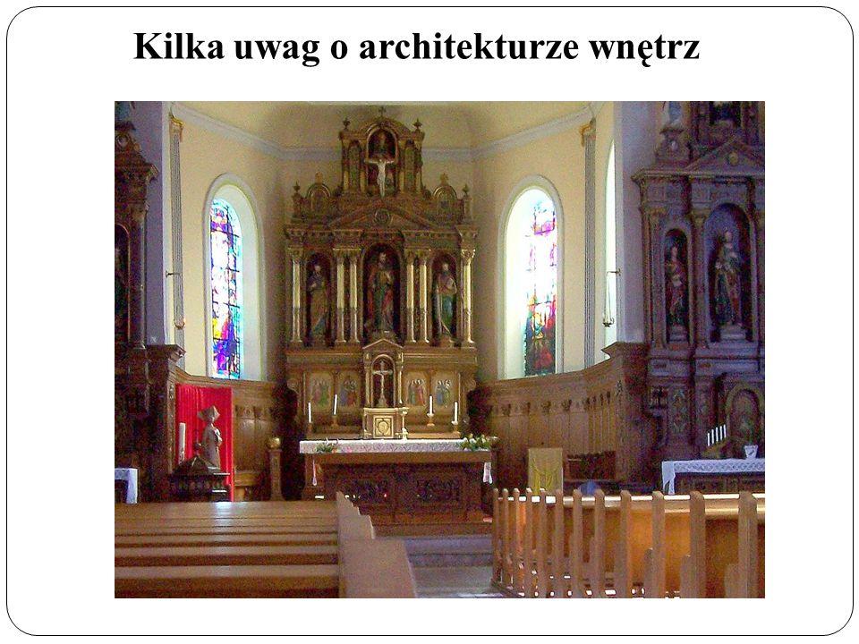 Kilka uwag o architekturze wnętrz