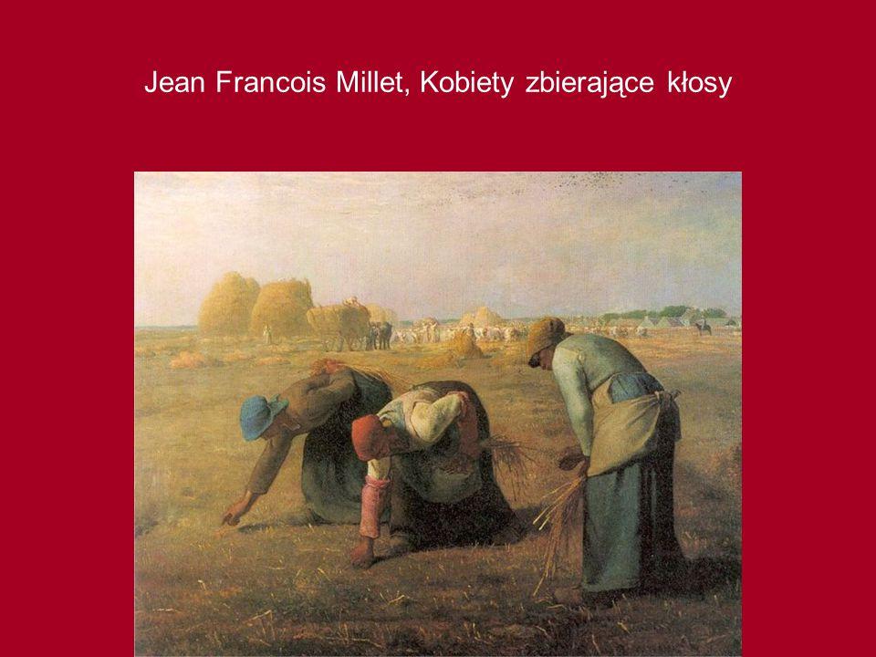 Jean Francois Millet, Kobiety zbierające kłosy