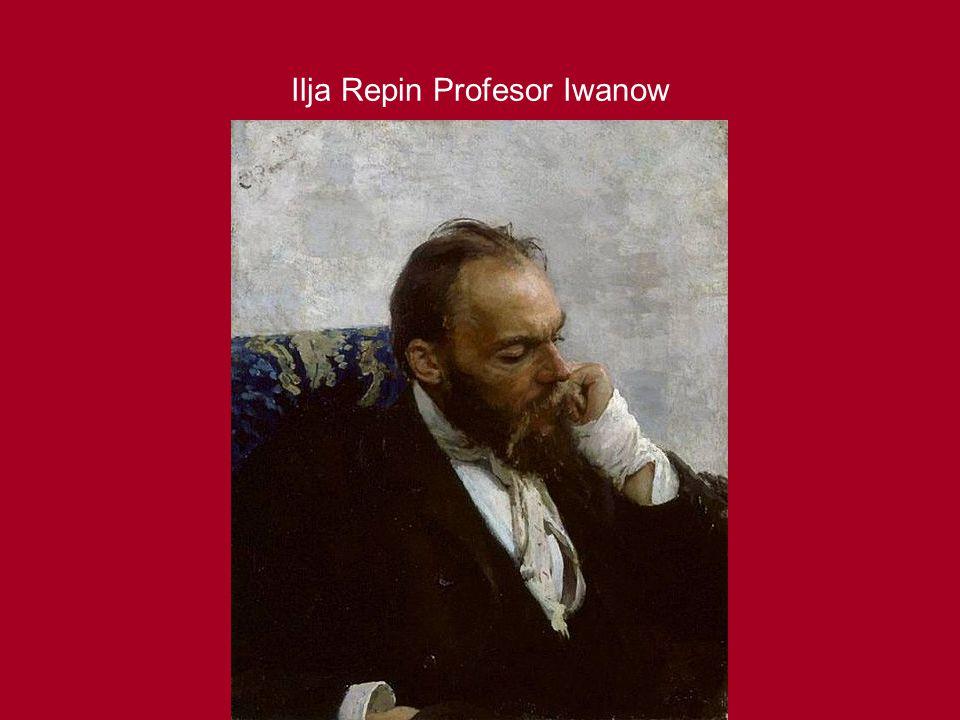 Ilja Repin Profesor Iwanow